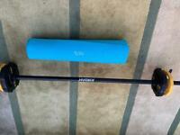 Jordan barbell weights bar