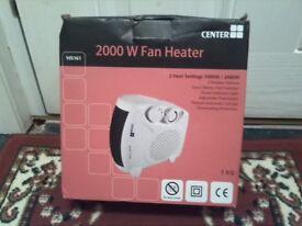 Brand new 2000w fan heàter