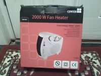 Brand new 2000w fan heàter