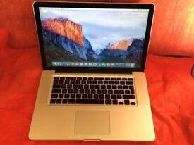 Macbook Pro 15.4inch [2008] core 2 duo 4GB RAM 500GB HDD + MS OFFICE/WORD + WARRANTY L741