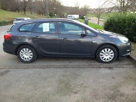 Vauxhall Astra|Sports Tourer|CDTI|Ecoflex|(S/S)|2013(63 Reg)|Mileage 26,600|Immaculate condition
