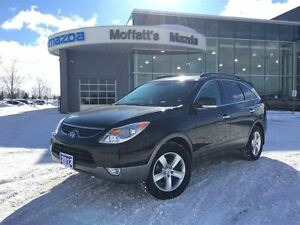 2012 Hyundai Veracruz LIMITED PKG, GPS, LEATHER, HEATED SEATS, S