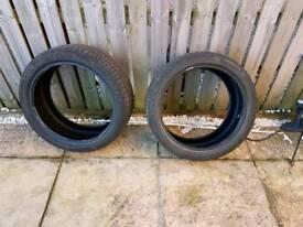 2 x 235 40 18 Barum tyres