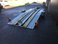 Car Transporter trailer with air suspension