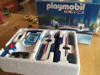 Playmobil rc train set with extra track