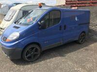 trafic vivaro primastar 2007 2.0dci full van for breaking