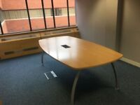OFFICE FURNITURE CLEARANCE VARIOUS BOARDROOM TABLES