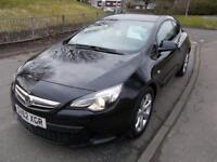 VAUXHALL ASTRA 1.6 GTC SPORT 3d 177 BHP (black) 2012