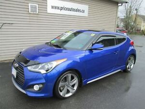 2013 Hyundai Veloster TURBO-HEATED LEATHER-NAVIGATION-SUNROOF!!!