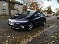 Honda Civic ES i-Vtec 1.8l with Panoramic ROOF (fully loaded) Long mot: 04/17! in VGC with FSH!