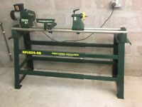 Woodturning Lathe - Record Power CL1 with Heavy Duty Floor Stand
