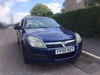 2005 Vauxhall Astra estate diesel mot history