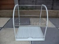 Ikea dish drainer/plate stand like new(COLLECTION ONLY)