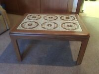 Lovely tiled coffee table