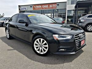 2013 Audi A4 2.0T Prem Tiptronic - AWD -LEATHER - SUNROOF -
