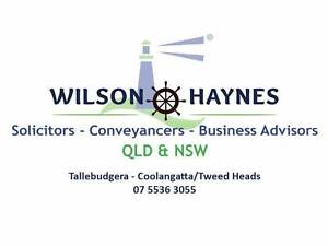 WILSON HAYNES -solicitors-conveyancers-business advisers Tallebudgera Gold Coast South Preview