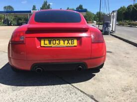 AUDI TT 225BHP QUATRO BAM ENGINE EXELLENT QUICK SALE REDUCED TODAY