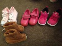 Size 5-5.5 girl shoes