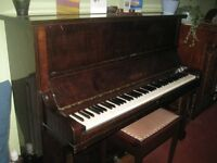 Welmar traditional piano free to a good home. Requires tuning. Must collect