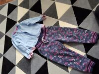 2x outfit for girl 1-2year
