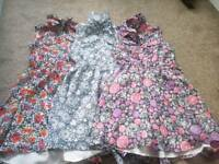 3x girls party dresses