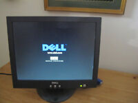 "Dell 15"" Flat Screen LCD Monitor"