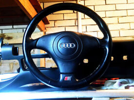 Audi A4 b5, A6 c5 - Complete Sports Steering Wheel