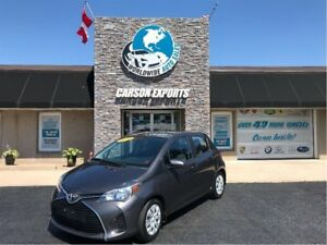2016 Toyota Yaris LE WITH  LOW KMS.  FINANCING AVAILABLE.  CALL