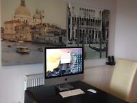"4 APPLE IMAC 24"" DESKTOP 4GB INTEL CORE 2 DUE MAGIC MOUSE WIRELESS KEYBOARD COMPLETE FUNCTIONAL"