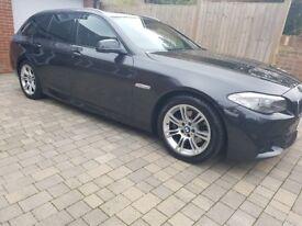 BMW 520d m sport touring. Sat nav, heated seats