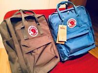 Fjallraven Kanken backpacks (Blue now sold) Grey colour.