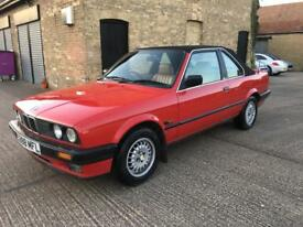 1988 Bmw 325i convertible e30 baur full history