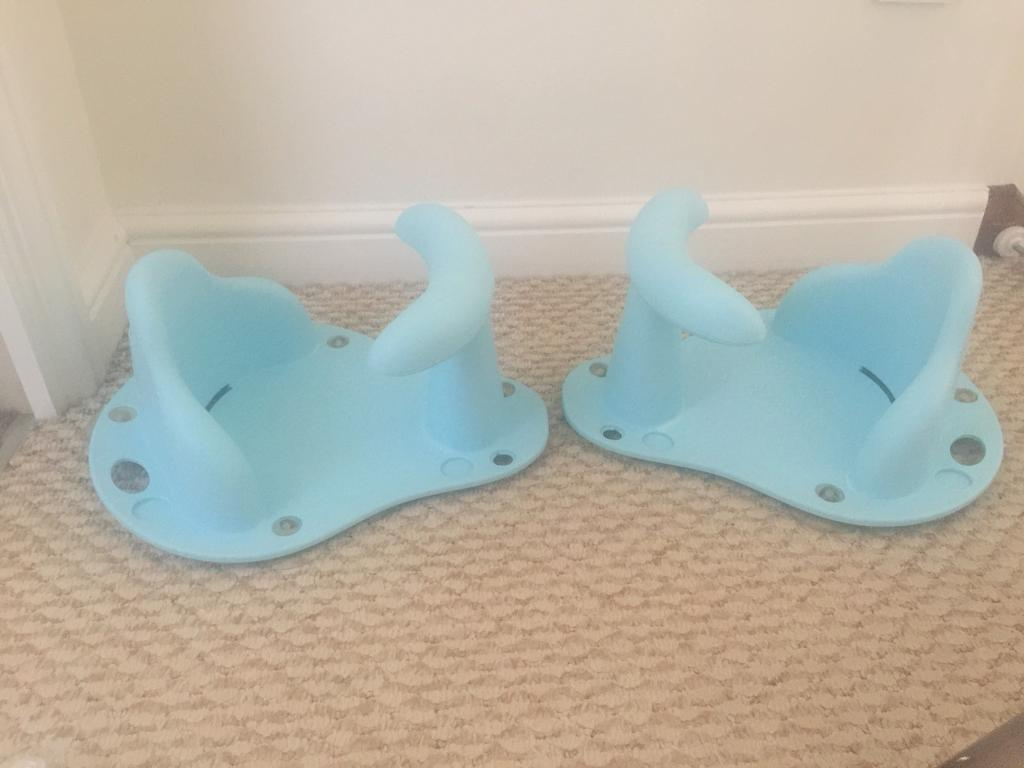 Two baby bath seats | in Heanor, Derbyshire | Gumtree