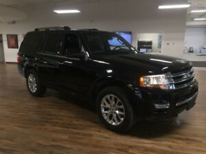 2017 Ford Expedition Limited  3.5 L 4X4, Leather, Navigation