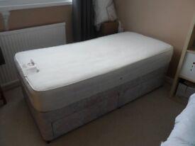 SINGLE( SILENT NIGHT ) 2 DRAWER DIVAN BED