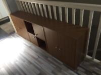 3x Oak-effect Storage Units (can deliver!) REDUCED!
