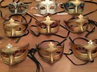 Masquerade masks various for masked ball lots of colours