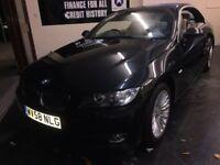 BMW 3 SERIES 3.0 325i SE 2dr (black) 2008