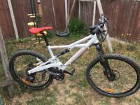 Cannondale prophet full sus enduro freeride xc mountain bike bicycle, ready to ride away