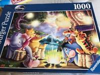 Disney Winnie the Pooh 1000 piece jigsaw puzzle