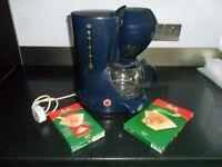Hinari Blue Coffee Maker