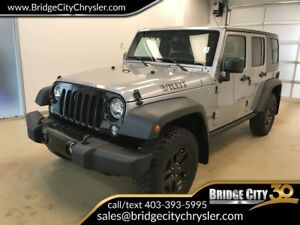 2015 Jeep WRANGLER UNLIMITED Willys 4x4, 6 Speed Manual!