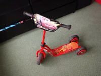 Cars McQueen scooter for kids