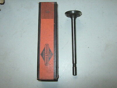 Antique Briggs Stratton Engine Exhaust Valve Model B 63617 23638