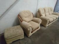 3 piece sofa suite. **FREE**