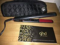 GHD hair straighteners with bag genuine