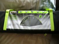 Urban escape 4 man tent with small porch, 3000 hydrostatic, bucket groundsheet...