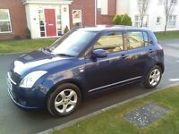 DECEMBER 2006 SUZUKI SWIFT 1.5 VVTS GLX, 93K, FULL MOT, NEW CLUTCH, KEYLESS ENTRY, ALLOYS!
