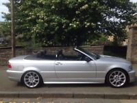 BMW 320 Ci 2.2 2003 (03) Convertible**Full Years MOT**A Stunning Soft Top BMW**ONLY £2495