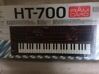 CASIO ELECTRIC KEYBOARD HT-700